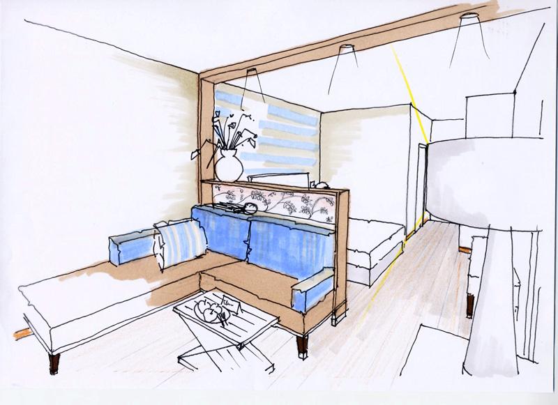 Innenarchitektur skizze  Planung & Mehr | Sulzenbacher